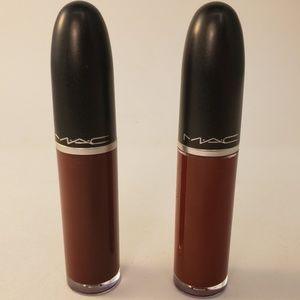 High Drama +Carnivorous MAC Retro Matte Liquid Lip